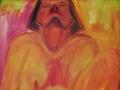 Ohne Titel / 1992 / 110x90 cm / Öl auf Leinwand