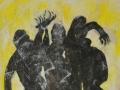 Tanz / 1993 / 110x90 cm / Öl auf Leinwand