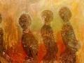 The Day after / 1996 / 150x100 cm /Öl auf Leinwand
