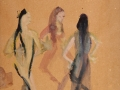 Aus Nefès /  Pina Bausch Tanztheater /  2005 / Aquarell