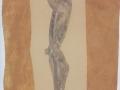 Tänzerin / 2004 / 140x110cm / Aqarell Papier Acryl  LW