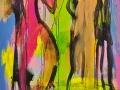 Begegnung / 2006 / 160x120cm / Acryl  LW