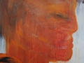 Köpfe / 2002 / 100x80 cm / Acryl auf Leinwand