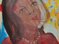 Köpfe / 2012 / 100x80 cm / Acryl auf Leinwand