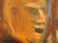 Köpfe / 2011 / 100x80 cm / Acryl auf Leinwand