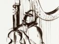 Bamberger Symphoniker / 1989 / Tusche